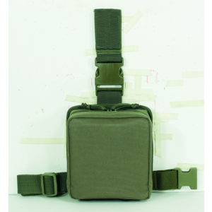 Drop Leg First Aid Pouch Color: OD Green