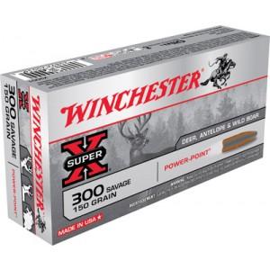 Winchester Super-X .300 Savage Power-Point, 150 Grain (20 Rounds) - X3001
