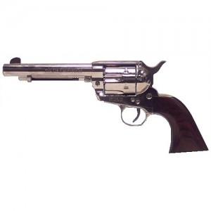 "Heritage Rough Rider .45 Long Colt 6-Shot 4.75"" Revolver in Nickel - RR45N4"