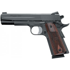"Sig Sauer 1911 Full Size .45 ACP 8+1 5"" 1911 in Black Nitron (Rosewood Grip) - 191145BSS"