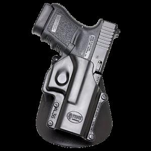 Fobus GL36LH Paddle Holster Left Hand Black Plastic - GL36LH