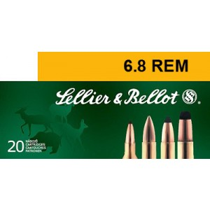 Magtech Ammunition Hunting 6.8 SPC PTS (Plastic Tip Special), 110 Grain (20 Rounds) - SB68B