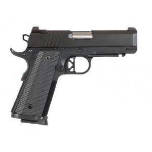 "Dan Wesson TCP 9mm 8+1 4"" 1911 in Matte Black Duty Finish - 01845"