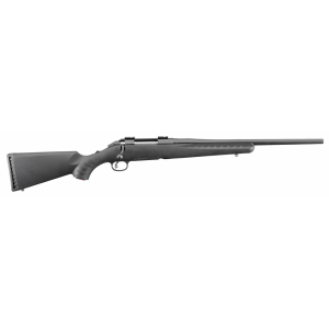 """Ruger American Compact 7mm-08 Remington 4-Round 18"""" Bolt Action Rifle in Black - 6909"""
