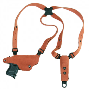 "Galco International Classic Lite Right-Hand Shoulder Holster for Smith & Wesson 1006 in Natural (3.5"") - CL420"