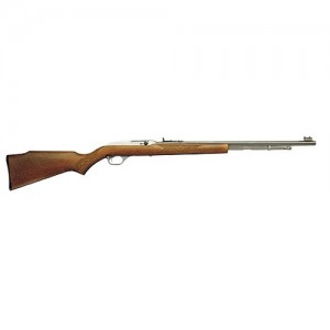 "Marlin Firearms 60 .22 Long Rifle 14-Round 19"" Semi-Automatic Rifle in Stainless Steel - 70630"