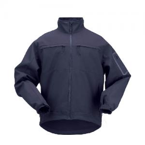 5.11 Tactical Chameleon Softshell Men's Full Zip Jacket in Dark Navy - Medium