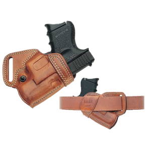 """Galco SOB296 Small of Back Auto 296 Fits Belts up to 1.75"""" Tan Leather - SOB296"""