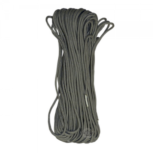 Silver/Grey 100' 7-Strand 550 Paracord #550 Commercial 7-Strand