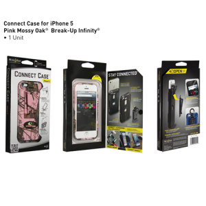 Connect Case iPhone 5/5S Solid Pink Mossy Oak Break-Up Infinity