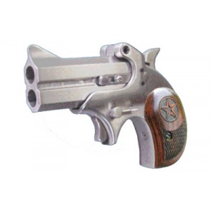 "Bond Arms Cowboy Defender .22 Winchester Magnum 2-Shot 3"" Derringer in Stainless - BACD22MAG"