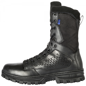 EVO 8  Waterproof Boot with Side Zip Color: Black Size: 10 Width: Regular