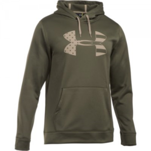 Under Armour Freedom Storm Tonal BFL Men's Pullover Hoodie in Marine OD Green - Small