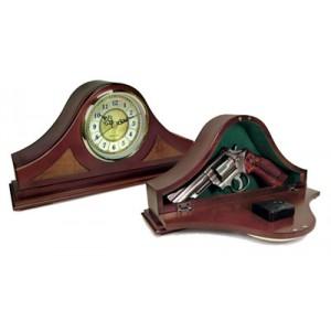 PSP Products Concealment Clock Mahogany MGC