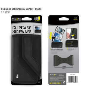 Clip Case Cargo Sideways Extra Large Black
