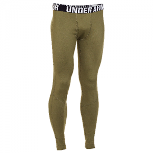 Under Armour Coldgear Infrared Men's Compression Pants in Marine OD Green - Large