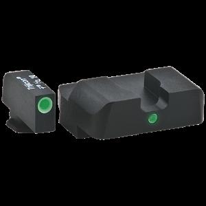 Ameriglo GL102 I-Dot Night Sights Fits Glock 10/45 Green Front/Rear