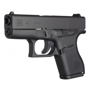 """Glock 43 9mm 6+1 3.25"""" Pistol in Gas Nitride (Gen 3) - PR43509"""