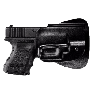 Uncle Mikes 5412-2 Kydex Paddle Holster Glk 26/27/33 Sz12 Kydex Blk - 54122