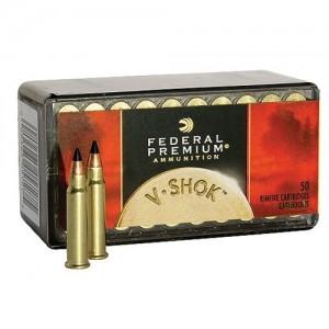 Federal Cartridge V-Shok Varmint .17 HMR Hornady V-Max, 17 Grain (50 Rounds) - P771