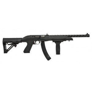"""HOWA/Legacy PPS22 .22 Long Rifle 30-Round 16"""" Semi-Automatic Rifle in Black - PPS22WC10X30"""