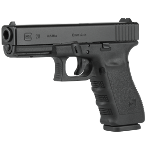 "Glock 20 10mm 10+1 4.6"" Pistol in Black - PI2050201"