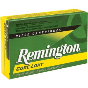 Remington 7X64 Brenneke Core-Lokt Pointed Soft Point, 140 Grain (20 Rounds) - R7X641