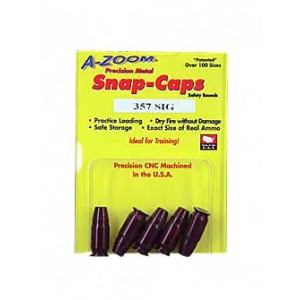 Azoom 357 Sig Snap Caps 5 Pack 15159