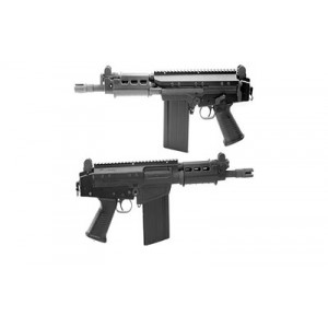 """DS Arms SA58 Tactical Pistol .308 Winchester 20+1 8.25"""" Pistol in Black - SA58825TACPISTOL-A"""