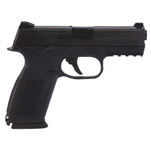 "FN Herstal FNS-9 9mm 17+1 4"" Pistol in Black (No Manual Safety) - 66752"