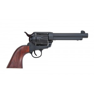 "Traditions 1873 .22 Long Rifle/.22 Winchester Magnum 10-Shot 5.5"" Revolver in Matte Black (Rawhide) - SAT73341C"