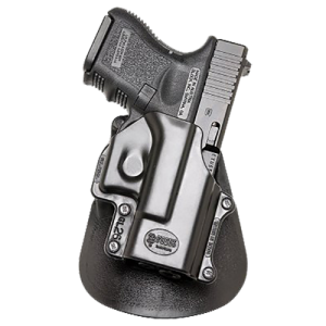Fobus GL26 Paddle Holster N/A Black Plastic - GL26