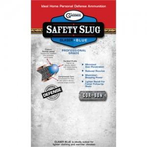 Glaser 25 ACP Safety Slug Round Nose 35 Grain 6 Round Package 00200