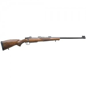 """CZ 550 American .375 H&H Magnum 5-Round 25"""" Bolt Action Rifle in Blued - 04200"""