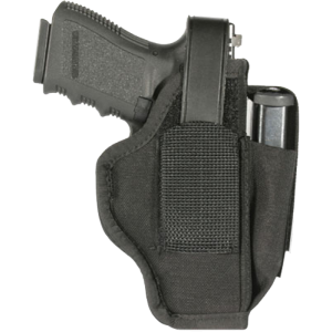 "Blackhawk Belt Ambidextrous-Hand Belt Holster for Medium/Large Autos in Black (3.25"" - 3.75"") - 40AM06BK"
