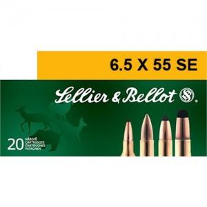 Magtech Ammunition 6.5X55 Swede Soft Point, 131 Grain (20 Rounds) - SB6555A