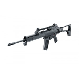 """Walther USA H&K G36 .22 Long Rifle 25-Round 18.9"""" Semi-Automatic Rifle in Black - 5730300"""