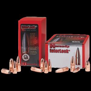 Hornady Rifle Bullet 30 Cal 180 Grain Boat Tail Spire Point 100/Box 3072
