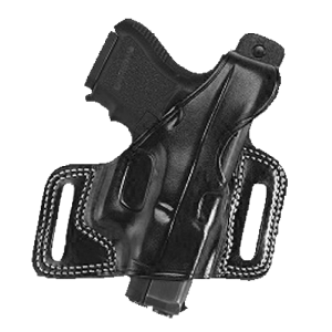"""Galco International Silhouette Right-Hand Belt Holster for Smith & Wesson N Frame 2""""-4"""" in Black (4"""") - SIL126B"""