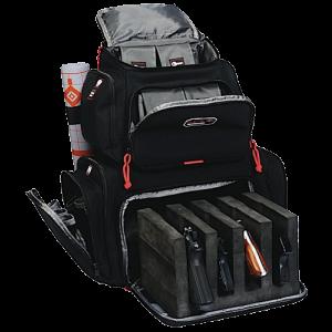 G*outdoors - Inc Handgunner Waterproof Cover Range Bag Backpack in Black Nylon - 1711BP
