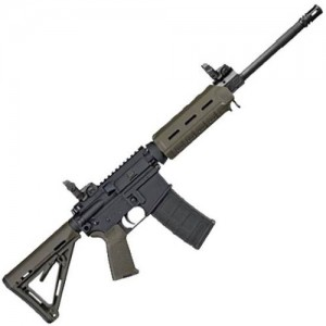 "Sig Sauer M400 .300 AAC Blackout Enhanced 30-Round 16"" Semi-Automatic Rifle in OD Green - RM400300B16B"