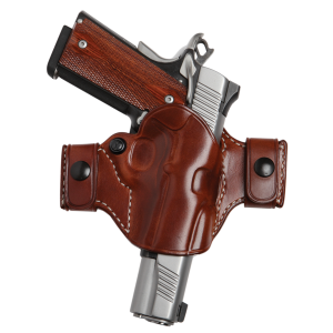 El Paso Saddlery OCXD94RR Snap Off Elite Compact Springfield XD 9/40 Leather Russet - OCXD94RR