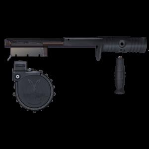 """AdaptiveTactical 05910 Rotary Shotgun Conversion Kit 12ga 2.75"""" 10rd Moss 590 Bl"""