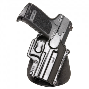 "Fobus USA Rotating Right-Hand Belt Holster for FN Herstal Forty-Nine in Black (4.3"") - HK1RB"