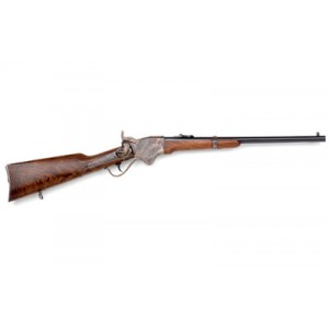 """Chiappa Spencer .45 Long Colt 7-Round 22"""" Lever Action Rifle in Blued - 920-084"""