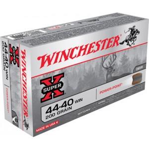 Winchester Super-X .44-40 Winchester Soft Point, 200 Grain (50 Rounds) - X4440