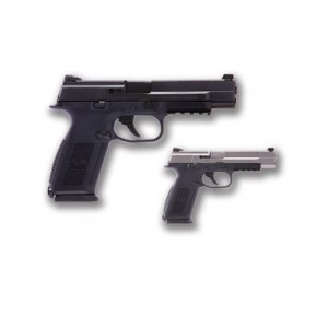 """FN Herstal FNS-9 Long Slide 9mm 10+1 5"""" Pistol in Black (No Manual Safety) - 66710"""