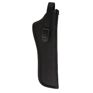 "Uncle Mike's Sidekick Left-Hand Belt Holster for Small Autos (.22-.25 Cal.) in Black (5.5"" - 6"") - 8162"
