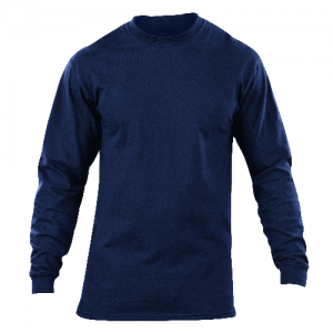5.11 Tactical Station Shirt Men's Long Sleeve Shirt in Fire Navy - Large