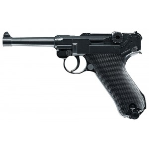 RWS 2251800 Luger P08 Air Pistol Semi-Auto .177 BB